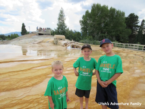 We had a lot of fun playing at the Soda Springs Geyser.