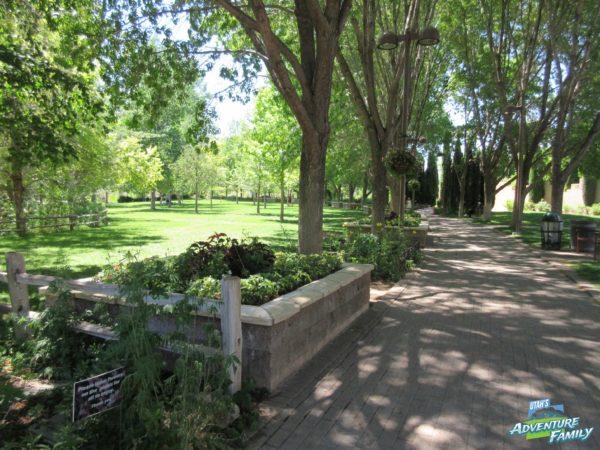 The Botanic Garden is very beautiful!