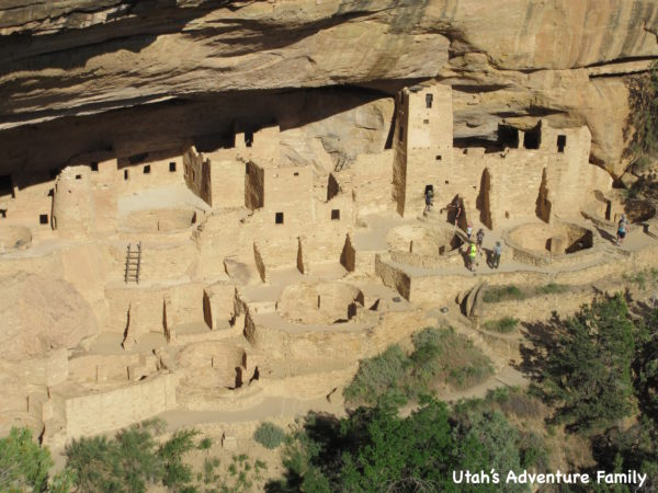 Cliff Palace is a must see site at Mesa Verde.