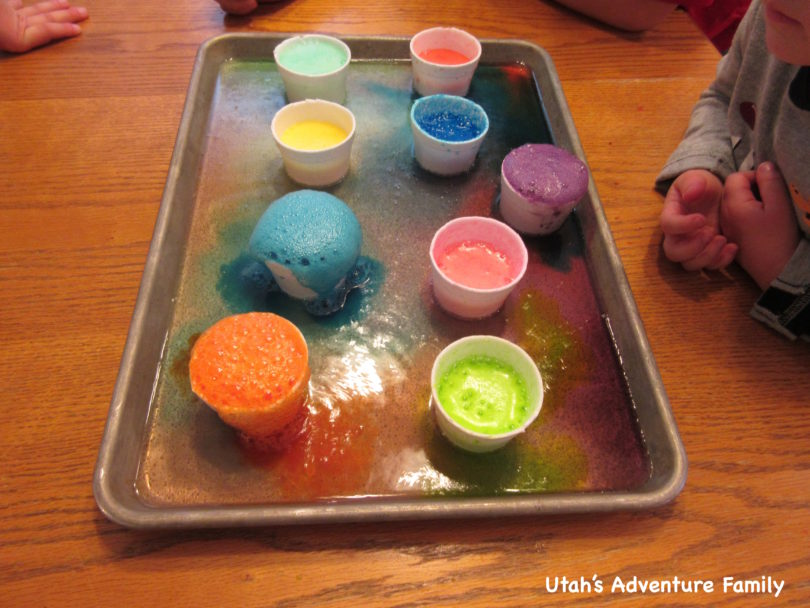 Science Experiments with Colors - Utah\'s Adventure Family