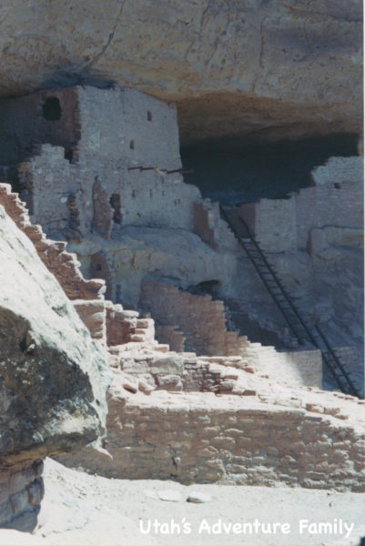 These pictures are from 2004 when we visited Mesa Verde before we had our three boys. Long House was an easy tour then, but now you walk quite a ways.
