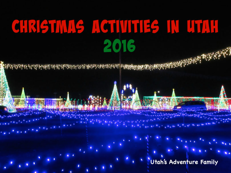 christmas activities in utah 2016 - Willard Bay Christmas Lights