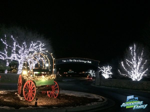 Heritage Park Christmas Lights 2020 Candlelight Christmas | This is the Place Heritage Park   Utah's