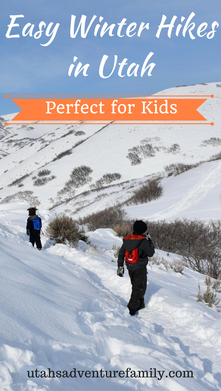 Easy Winter Kids Crafts That Anyone Can Make: Easy Winter Hikes In Utah