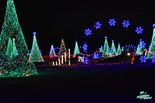 christmas in color has so many fun light displays