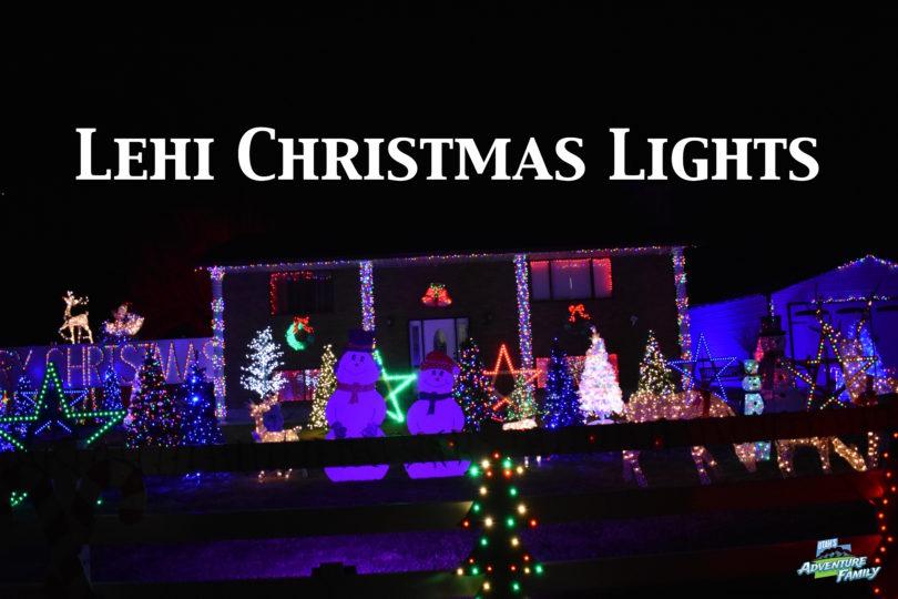 Christmas Lights Near Lehi, Ut 2020 Lehi Christmas Lights   Utah's Adventure Family