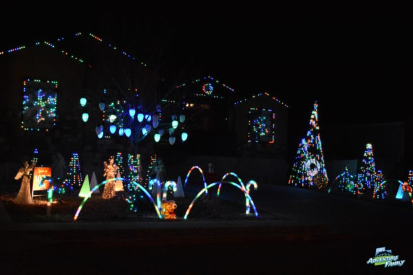 lehi has a bunch of great christmas light displays