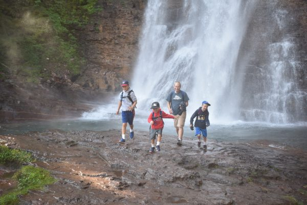 photos officielles fd020 976c4 Virginia Falls Glacier National Park - Utah's Adventure Family