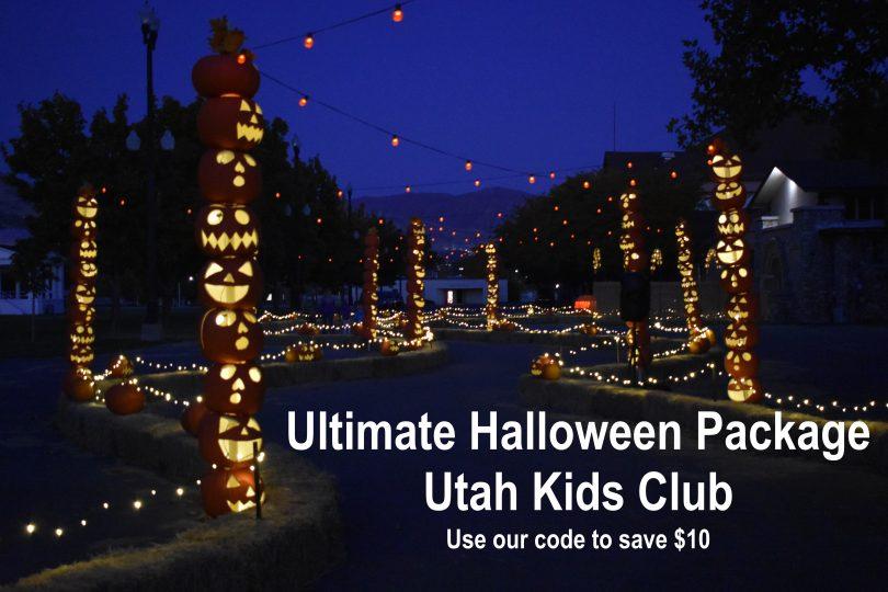 ultimate halloween package from utah kids club