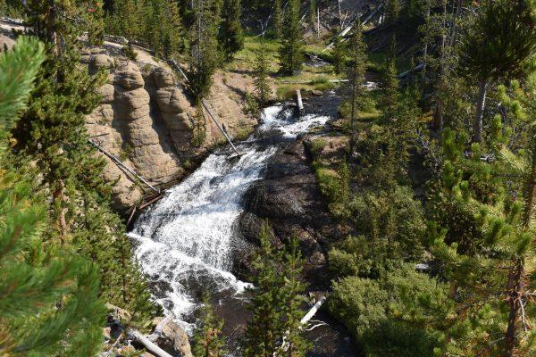 Little Gibbon Falls in Yellowstone