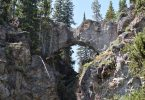 natural bridge yellowstone national park