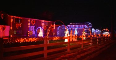 Valentine Lights in Lehi