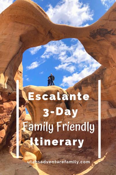 Escalante 3 Day itinerary