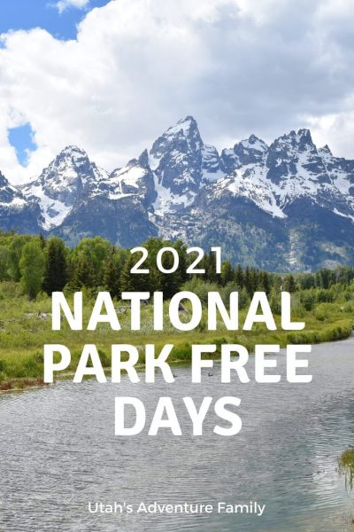 Pinterest Image 2021 National Park Free Days