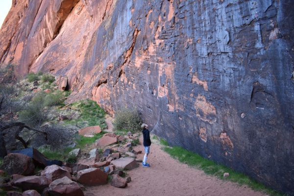 Hiking in Snow Canyon